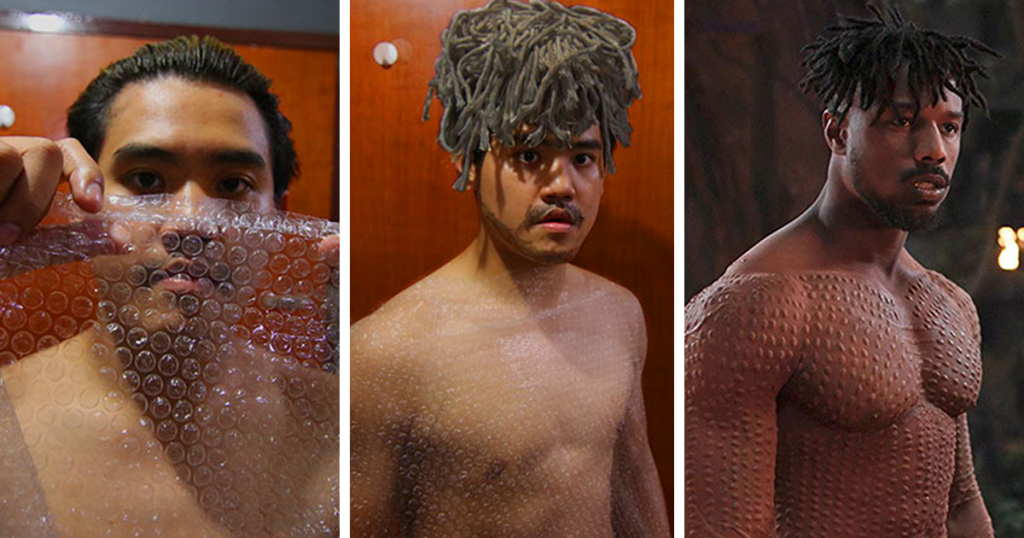 Cosplay Guy Strikes Again With Low-Cost Costume Alternatives That Are Ridiculously Hilarious
